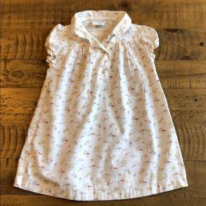 Jacadi cotton dress 12m